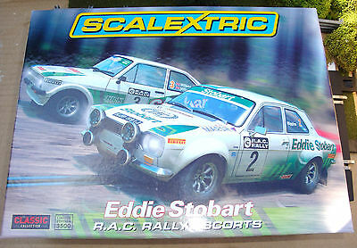 C3369A. Limited Edition Brand New Boxed Eddie Stobart Rally Escorts With Lights