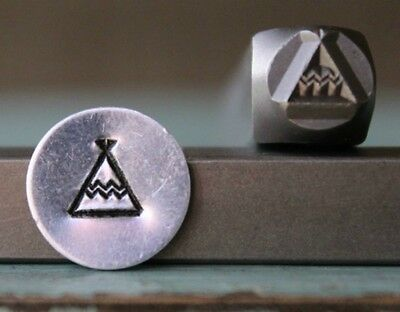 SUPPLY GUY 6mm Southest Teepee Metal Punch Design Stamp SGCH-106