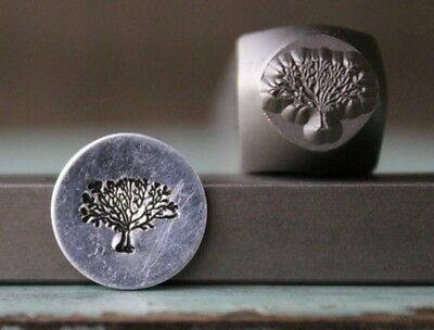 SUPPLY GUY 8mm Tree of Life Metal Punch Design Stamp SGCH-112