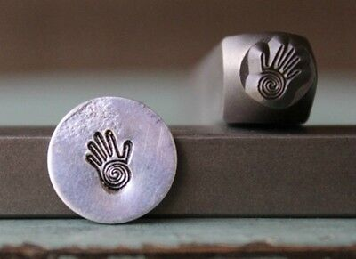 SUPPLY GUY 6mm Healing Hand of Miriam Metal Punch Design Stamp SGCH-118