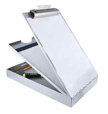Saunders Recycled Aluminum Cruiser-Mate Storage Clipboard with Dual Tray Storage