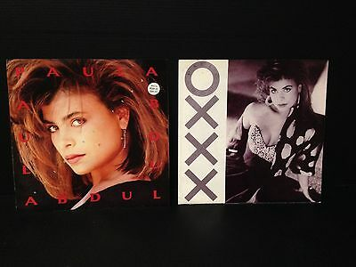 "PAULA ABDUL - ""Straight Up"" 12"" and other unsused Promo items from early on"