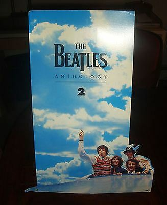 The BEATLES - ANTHOLOGY 2  COUNTER STANDEE - 1996 - NEW/UNOPENED
