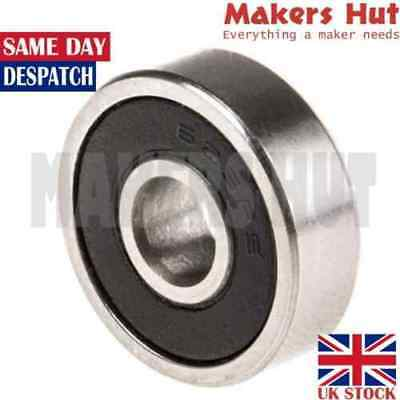 625 2RS 5mm x 16mm x 5mm Shielded Deep Groove Ball Bearing