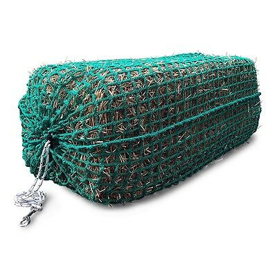 Full-Bale Slow Feed Hay Net Superior Quality *TOGGLE CLOSURE & FREE SNAP BOLT*!