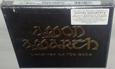 Amon Amarth Deceiver Of The Gods (Deluxe Edition) (2013) Brand New Sealed 2Cd