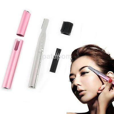 Electric Body Hair Removal Eyebrow Trimmer Shaver Cleaner Remover Health Carer S