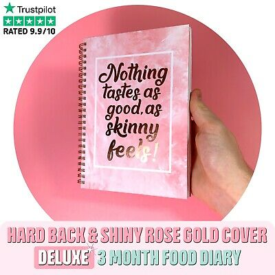 Food Diary Slimming World Compatible Book A5 Weight Loss Diet Journal Planner Sk