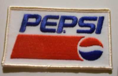 "Pepsi Soda  patch Soft Drink 4"" inches  vintage"