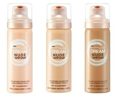 Maybelline Dream Nude Airfoam Foundation - Choose Your Shade - 50ml