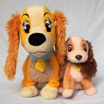 Lady And The Tramp    Lady Dog Soft Toy Set Bundle