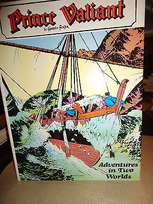 Harold Foster's Prince Valiant - Adventures in Two Worlds - V. 4. 1st HB DJ