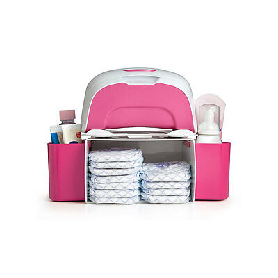 Prince Lionheart 2-in-1 Diaper Depot - Pink - NEW