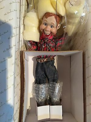 Howdy Doody Porcelain Doll Danbury Mint New Never opened in Box