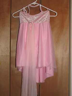 Pink Girls Dance Costume (Large Child) - Free Us Shipping!