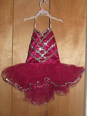 Curtain Call Costumes Girl Dance Recital (Size 10) - Free Us Shipping!