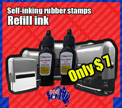 Red Refill Ink for custom personalised self-inking stamp