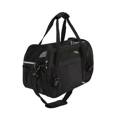 Petcomer Pet Carrier Dog Cat Comfort Travel Tote Bag Airline Approved Outdoor OZ