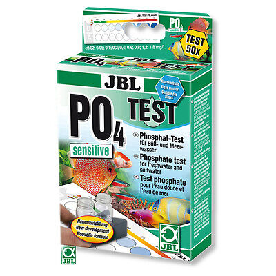 JBL PO4 Test-Set sensitiv / Phosphat-Test, NEU