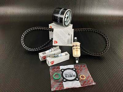 Ducati Diavel service kit; cam timing belts, oil-, fuel filter, spark plugs, ...
