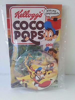 Kellogg's Coco Pops 1992 Jungle Singalong badge cereal toy, flashing lights!