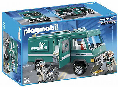 Playmobil 5566 City Action Police Money Transport Vehicle