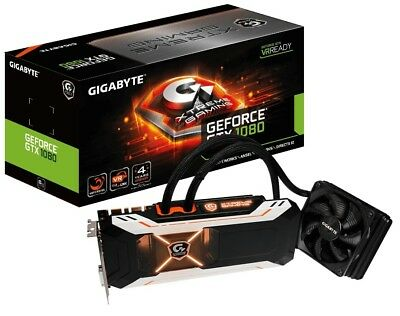 Gigabyte GeForce GTX 1080 Xtreme Gaming Water Cooling 8GB GDDR5X Graphics Card