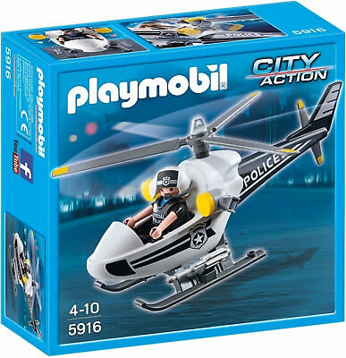 Playmobil 5916 City Action Police Helicopter