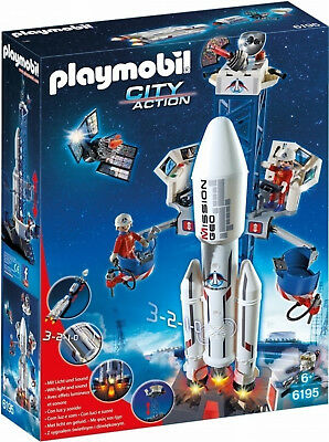 Playmobil 6195 City Action, Space Rocket with Launch Site
