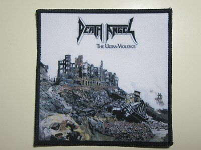 DEATH ANGEL The Ultra-Violence printed NEW patch thrash metal
