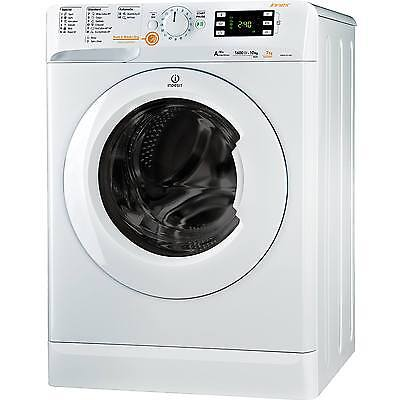 Indesit XWDE751480XW A Rated 1400 Spin 7+5Kg 16 Programmes Washer Dryer in White