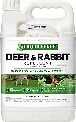 Liquid Fence HG-80109 Ready-to-Use Deer and Rabbit Repellent, 1-Gallon