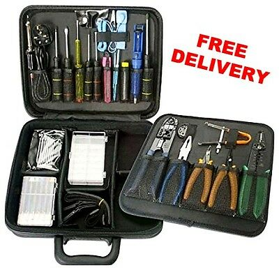 LINDY Computer Tool Kit Technician Repair Complete Premium Hard Case Engineer