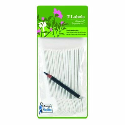 Gardener's Blue Ribbon T023A Plant T-Labels, 5-Inch