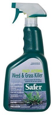 Safer Brand 32 oz Fast Acting Weed & Grass Killer Spray  5055