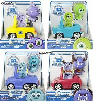 Monsters Inc University Sulley Randall Roll A Scare Ridez - Disney Pixar Toy Car