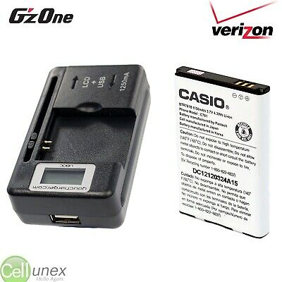 Casio G'zOne Ravine 2 C781 BTR781B Battery & Awesome Charger