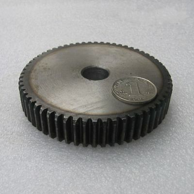 1.5Mod 55T 45# Steel Spur Pinion Gear Outer Dia 85.5mm Thickness 15mm Qty1