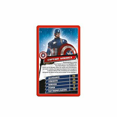 Captain America: Civil War Top Trumps