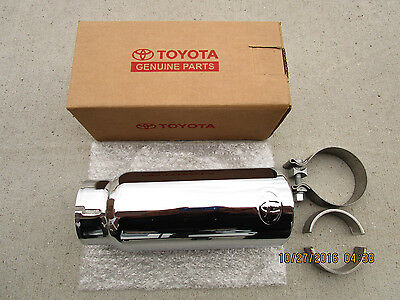 12 - 17 Toyota Tundra Sr5 Limited Trd Stainless Steel Exhaust Tip New 34120