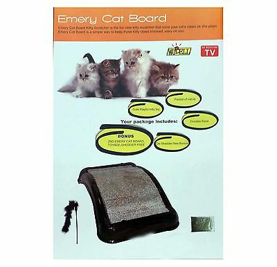 Cat Toy Occupation Cat Scratching Board Emery Board Game Training Fun Scratch