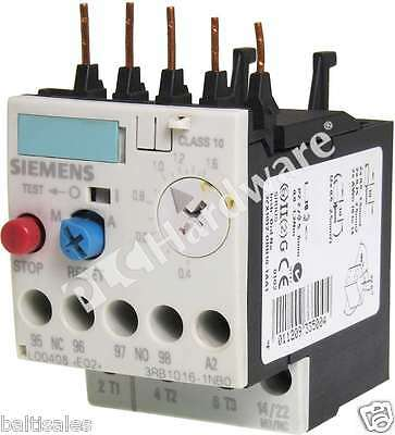 Siemens 3RB1016-1NB0 3RB1 016-1NB0 Solid-State Overload Relay 0.4-1.6A Qty