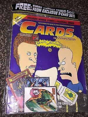 Cards Illustrated(May1994)Sealed New Guide to Non-Sports Cards_Beavis & Butthead