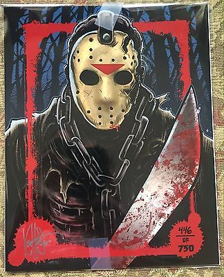 BAM! Box Expansion Box Jason Voorhees Friday the 13th LIMITED Art Print 446/750
