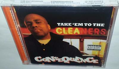 Consequence Take 'Em To The Cleaners (2004) New Sealed Cd Kanye West Q-Tip