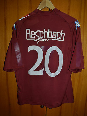 Servette Switzerland 2000's No Match Worn Football Shirt Jersey Kappa #20