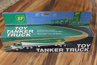 BP Toy Tanker Truck-Battery Operated (NIB)