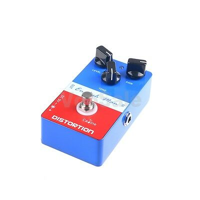 Caline CP-14 English Man Distortion Guitar Effects Pedal DC 9V Blue+Red