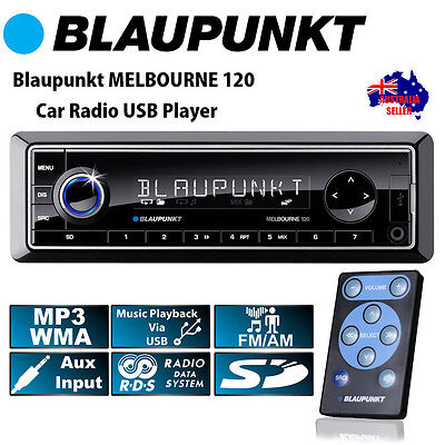 NEW BLAUPUNKT Melbourne 120 Single DIN Mechless Non CD Car Player Audio Stereo