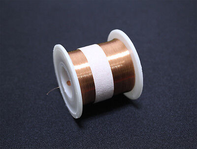 Enameled Wire 130g 38AWG, 0.1mm, 1800m Enamelled copper winding coil,Magnet Wire